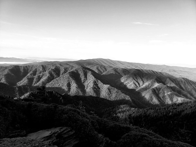 LeConte View BW